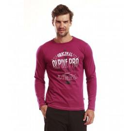 Pánské tričko s dlouhým rukávem Alpine Pro TEODORO